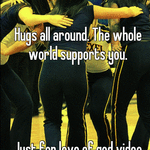 Hugs all around. The whole world supports you.      Just for love of god video tape it.