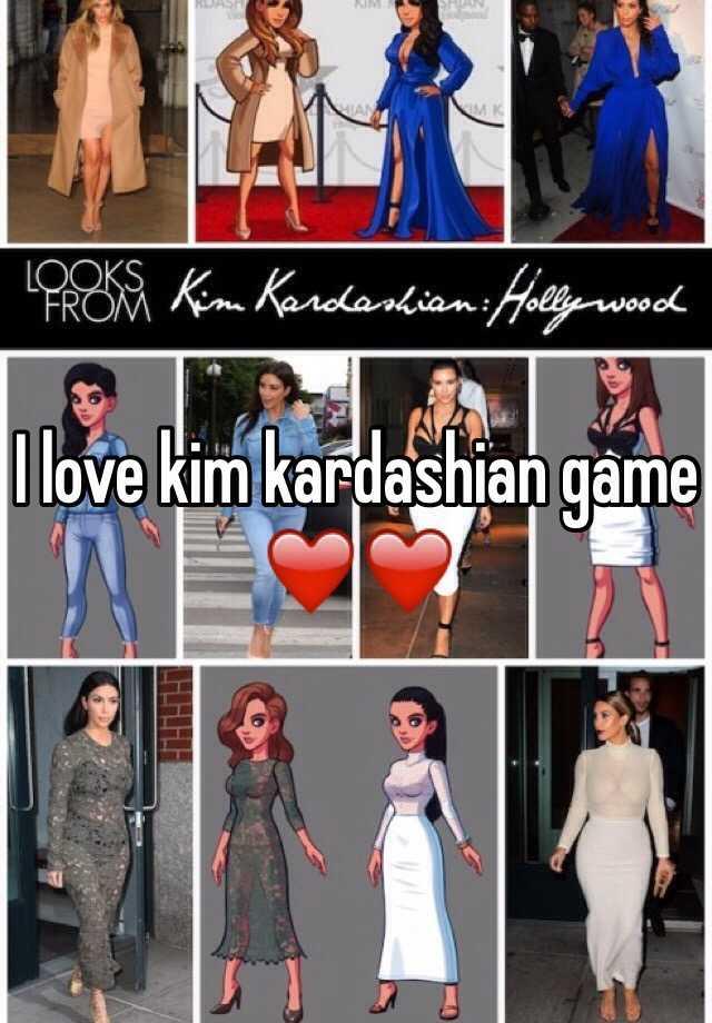 I love kim kardashian game ❤️❤️