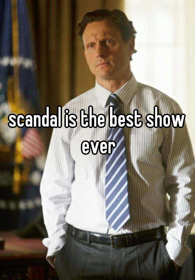 scandal is the best show ever